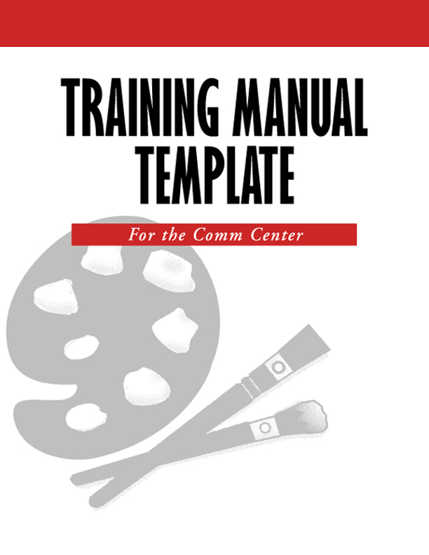 Sample Instruction Manual Template Geminifmtk - Handbook template word